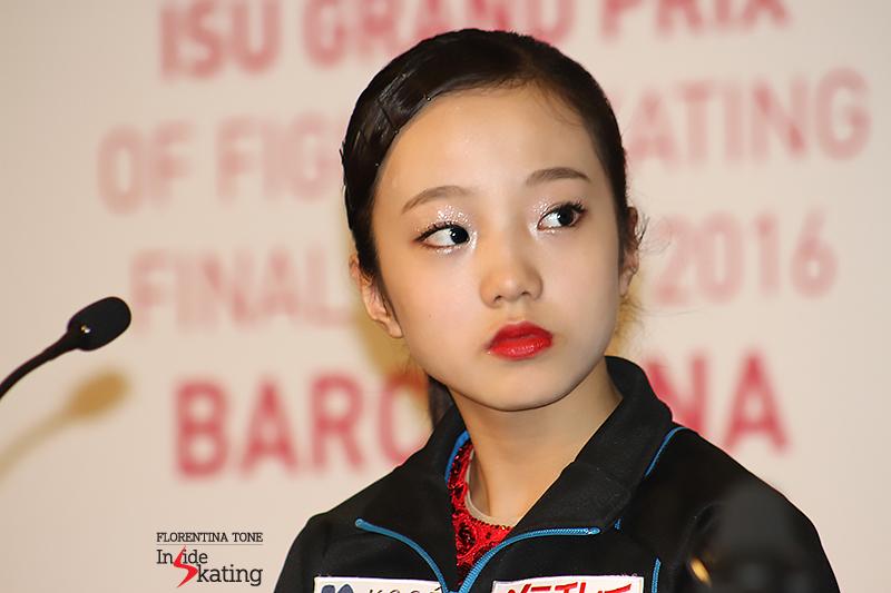 Marin, like a tiny, precious porcelain doll