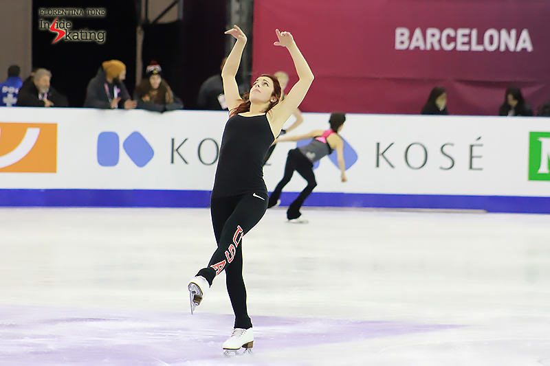 Ashley Wagner practice session December 10, 2015 GPF (1)