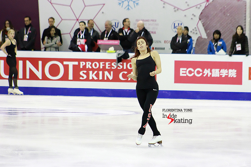 Ashley Wagner practice session December 10, 2015 GPF (3)
