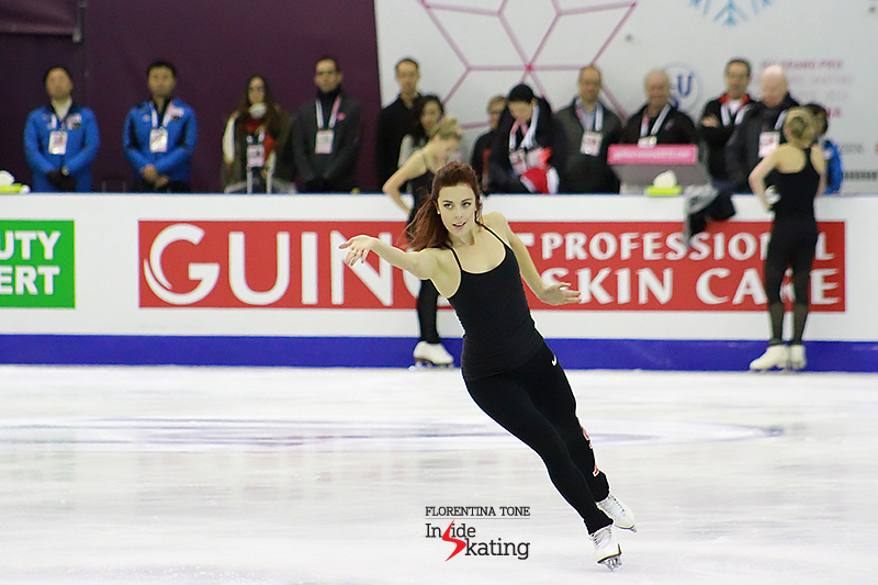 Ashley Wagner practice session December 10, 2015 GPF (5)
