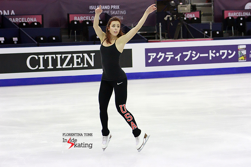 Ashley Wagner practice session December 10, 2015 GPF (6)