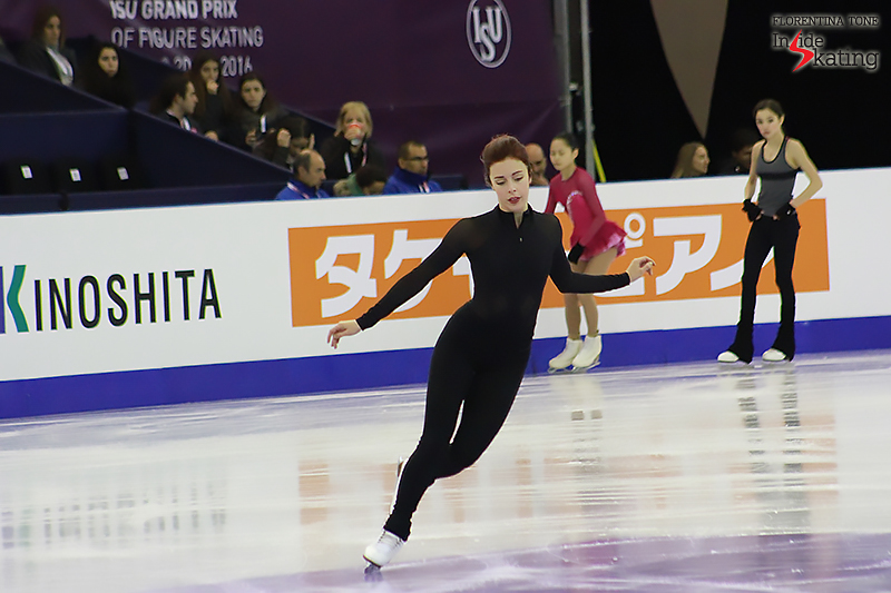Ashley Wagner practice session December 12, 2015 GPF (2)