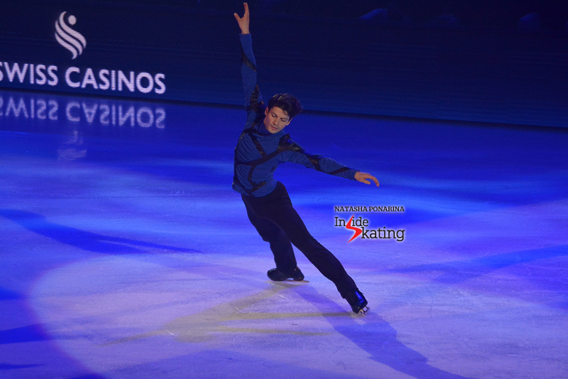 "Stéphane Lambiel skating to Jessie J's ""Nobody's perfect"" at 2016 Art on Ice"