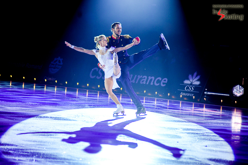 21 Tatiana Volosozhar and Maxim Trankov Masquerade Waltz  2016 Ice Legends