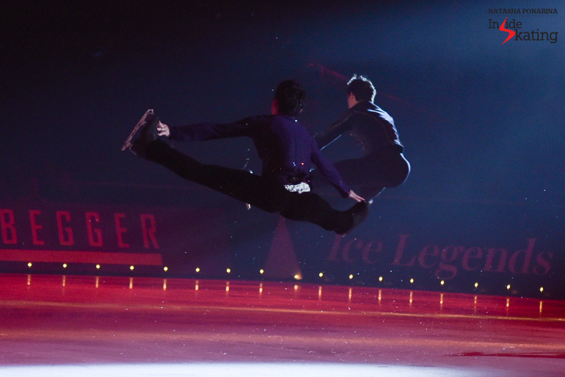 35 Daisuke Takahashi Stephane Lambiel Ravel Le Poeme 2016 Ice Legends
