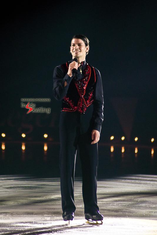 """""""Quelle émotion de patiner ce programme pour vous! C'est juste magnifique, merci pour l'accueil! Merci d'être là pour partager ce moment…"""""""