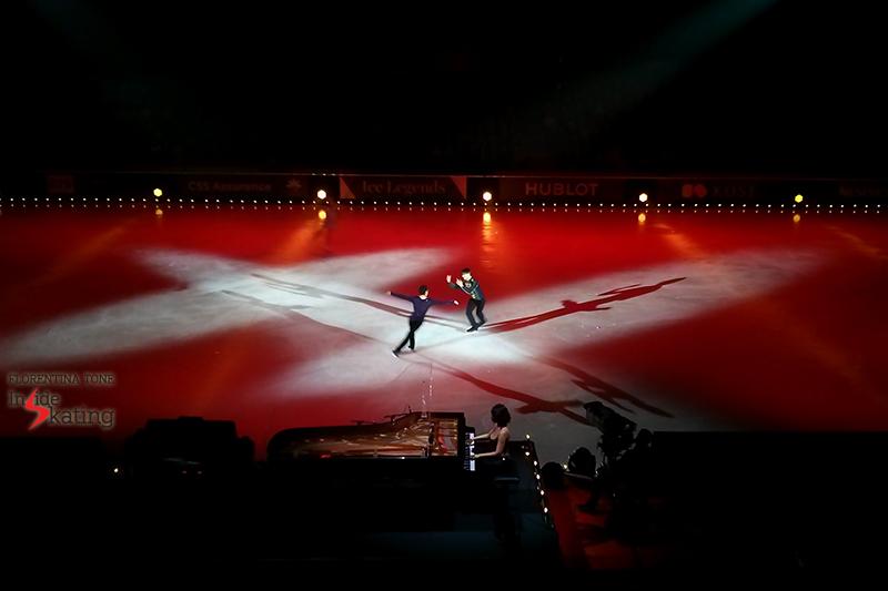 Daisuke Takahashi Stephane Lambiel Le Poeme 2016 Ice Legends
