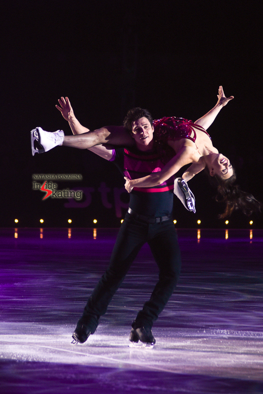 Bits of Mambo, with Tessa Virtue and Scott Moir in the forefront