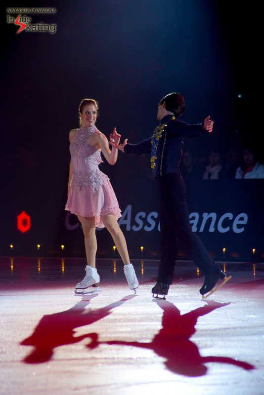 ...and the result of them working together in Champéry was purely breathtaking – and Carolina's face during their performance says it all