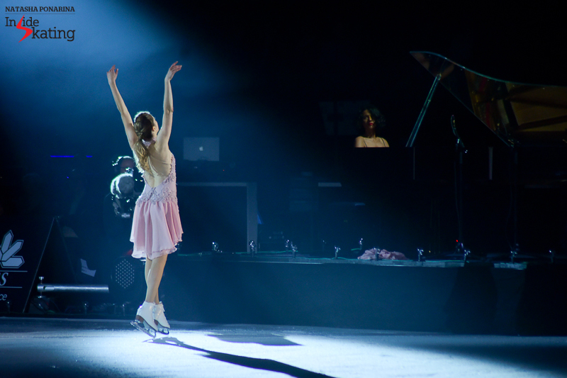 4 Carolina Kostner Debussy Khatia Buniatishvili Clair de Lune 2016 Ice Legends