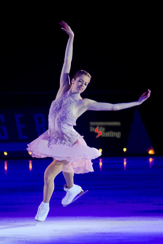 Carolina Kostner found a new inspiration in her ballet lessons