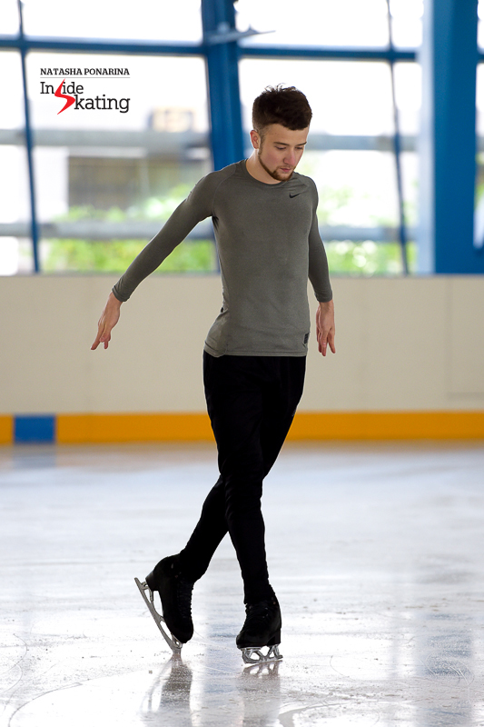 Glimpses of Misha Ge's new programs, as practiced in St. Petersburg