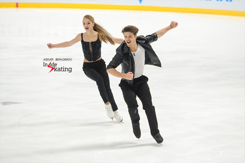 1 Alexandra Stepanova and Ivan Bukin SD 2016 Finlandia Trophy