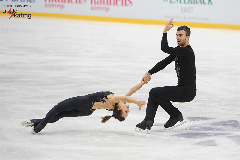 2 Meagan Duhamel and Eric Radford SP 2016 Finlandia Trophy (4)