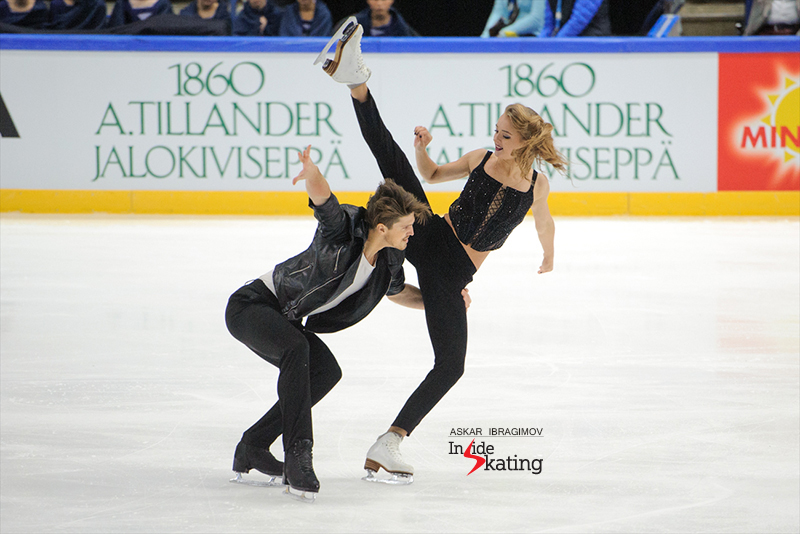 3 Alexandra Stepanova and Ivan Bukin SD 2016 Finlandia Trophy