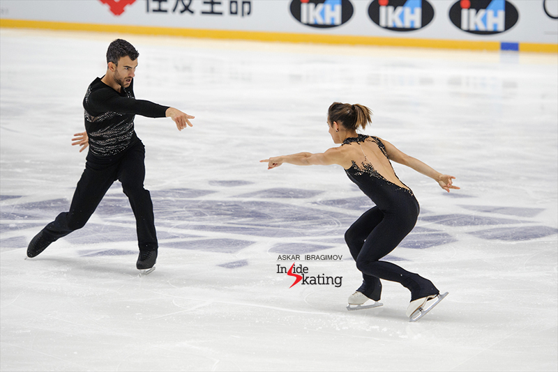 3 Meagan Duhamel and Eric Radford SP 2016 Finlandia Trophy (5)