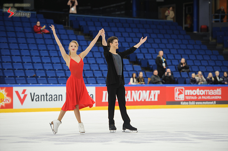 Alexandra and Ivan started the 2016-17 season in the best possible way: with a gold medal, at Finlandia Trophy in Espoo; still, there's plenty of work to be done during this pre-Olympic season, and the two are ready to give all of themselves to training, so they could reach their goals.
