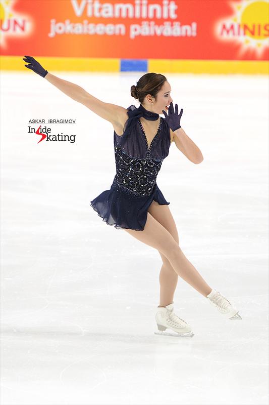 Kaetlyn Osmond SP 2016 Finlandia Trophy (9)