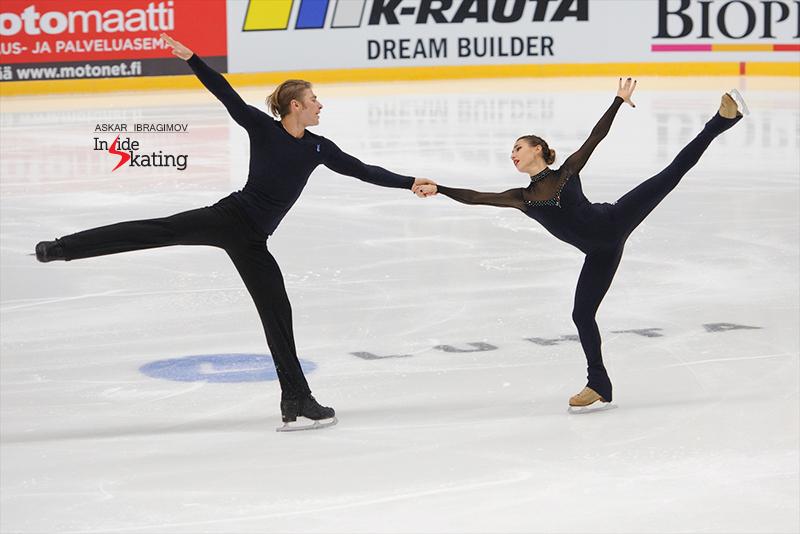 Kristina Astakhova and Alexei Rogonov SP 2016 Finlandia Trophy (3)