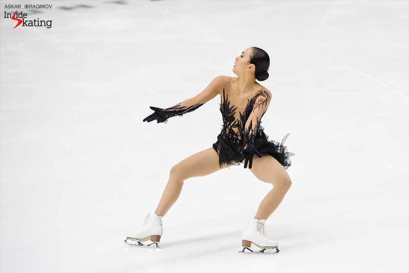 Mao Asada Black bird SP Finlandia Trophy (2)