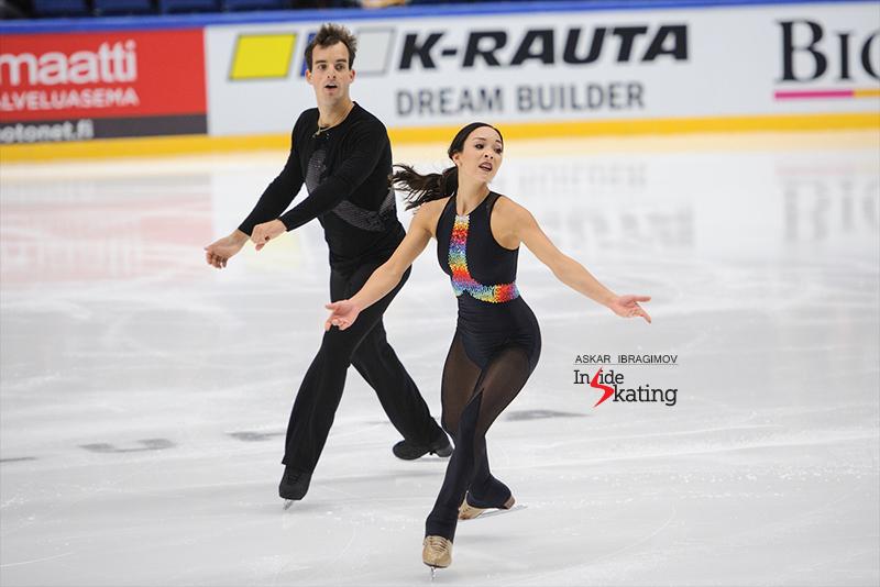 Mari Vartmann and Ruben Blommaert FS 2016 Finlandia Trophy (2)