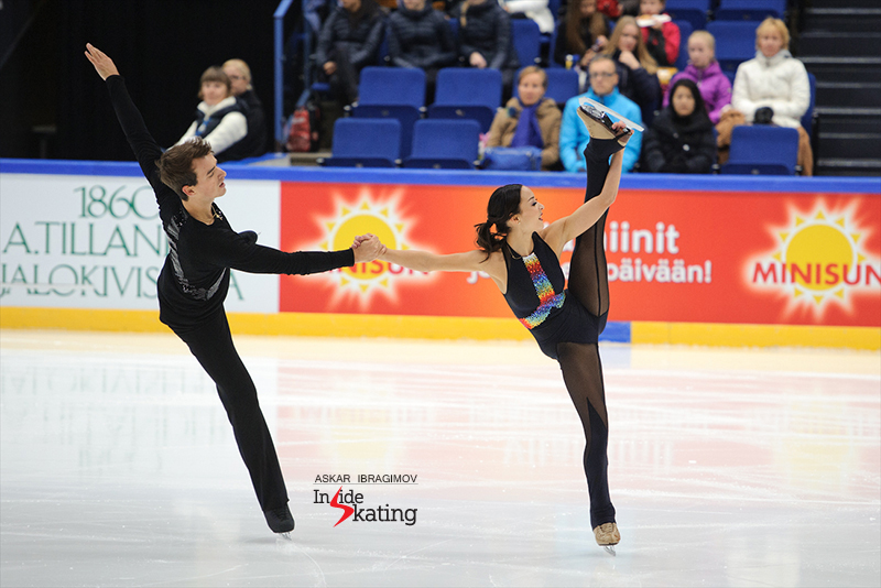 Mari Vartmann and Ruben Blommaert FS 2016 Finlandia Trophy (3)