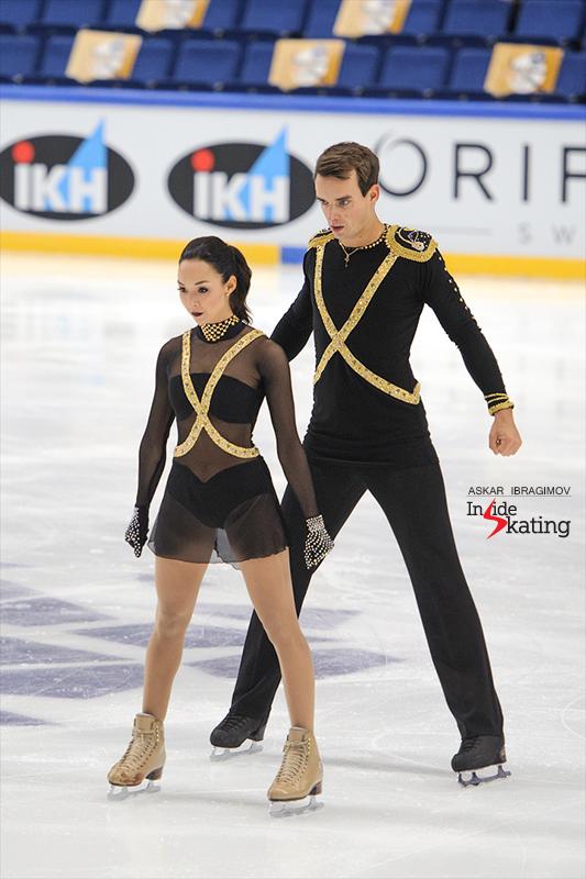 Mari Vartmann and Ruben Blommaert SP 2016 Finlandia Trophy (1)