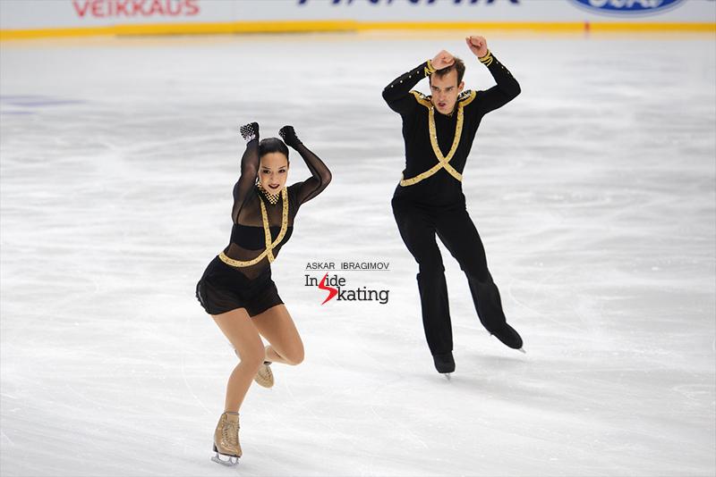 Mari Vartmann and Ruben Blommaert SP 2016 Finlandia Trophy (2)