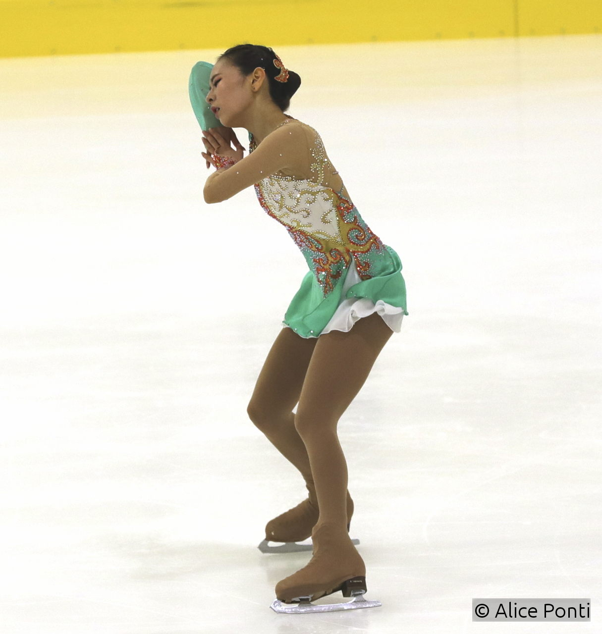 "For the free skating, Na Hyun has chosen to skate to music from the movie ""House of Flying Daggers"""