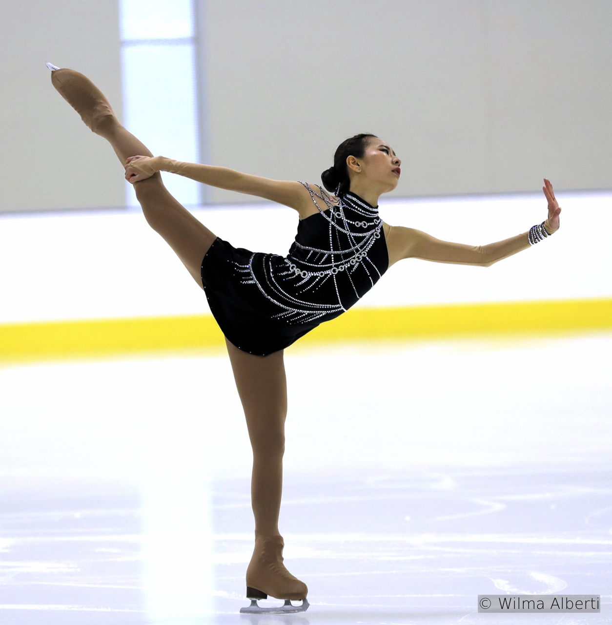 "Silver medalist in Bergamo, Na Hyun Kim skates to (probably) Whitney Houston's most famous song: ""I Will Always Love You"""