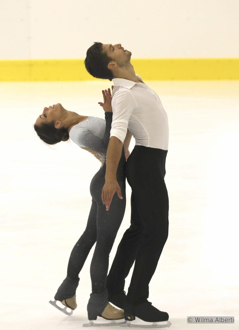 Nicole della Monica and Matteo Guarise FS (2)