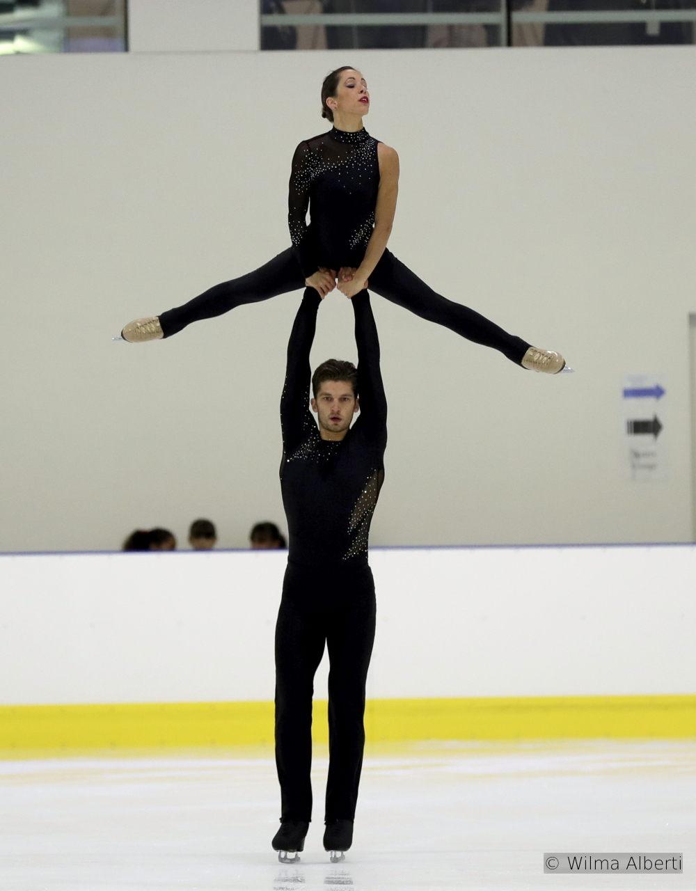 Nicole della Monica and Matteo Guarise SP (2)