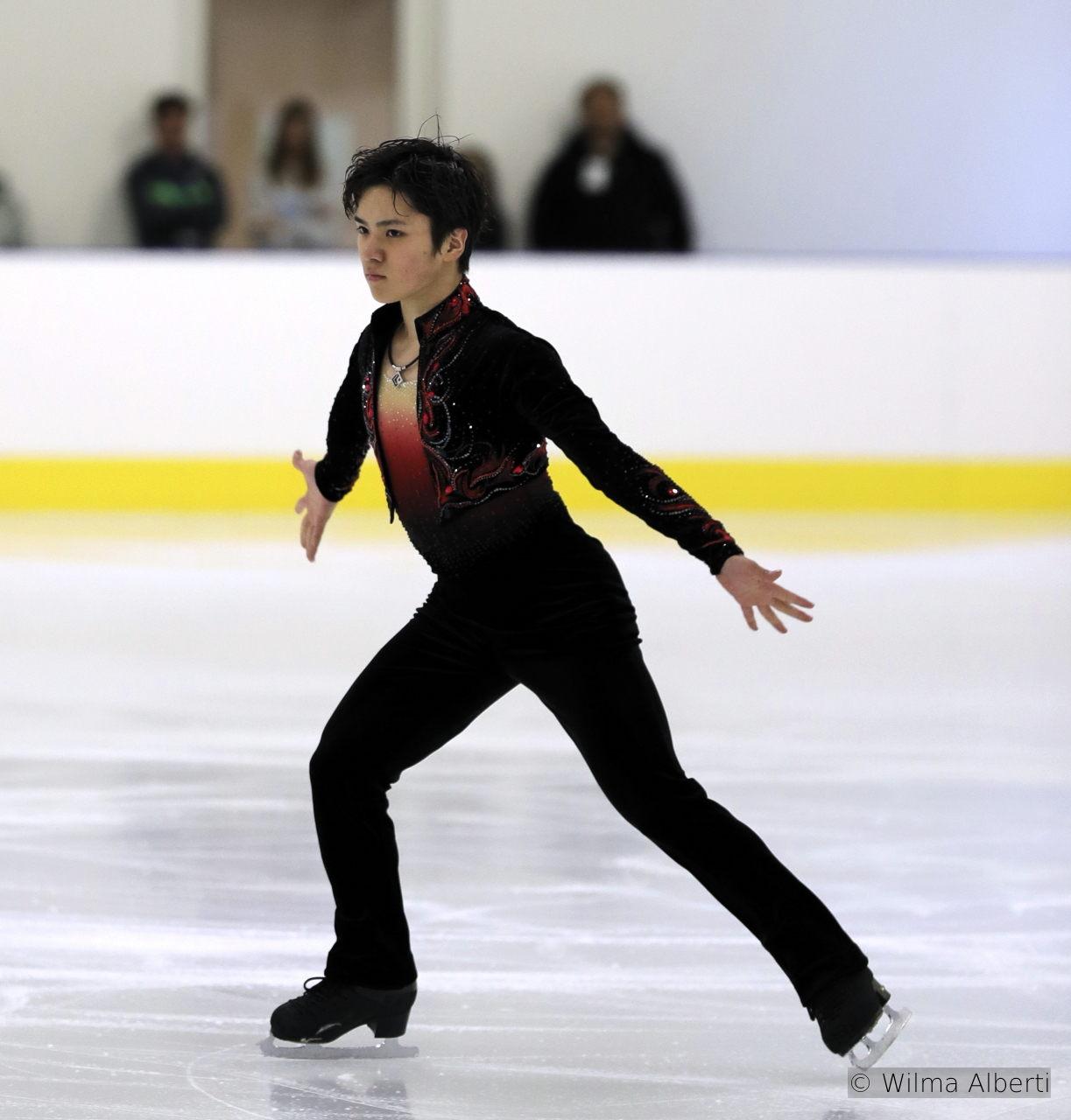 """El tanguero Shoma Uno – his free skating this season is set to """"Buenos Aires Hora Cero"""" and """"Balada para un loco"""""""