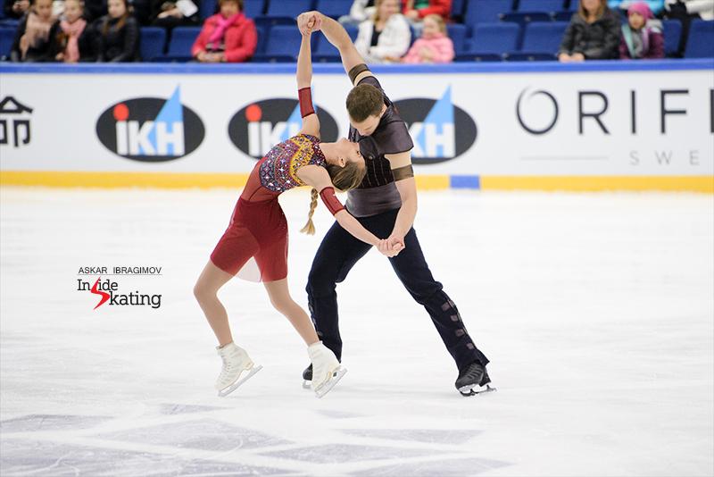 Tarah Kayne and Daniel O'Shea FS 2016 Finlandia Trophy (1)