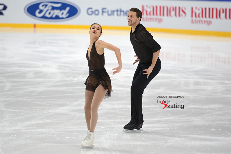 Tarah Kayne and Daniel O'Shea SP 2016 Finlandia Trophy (2)