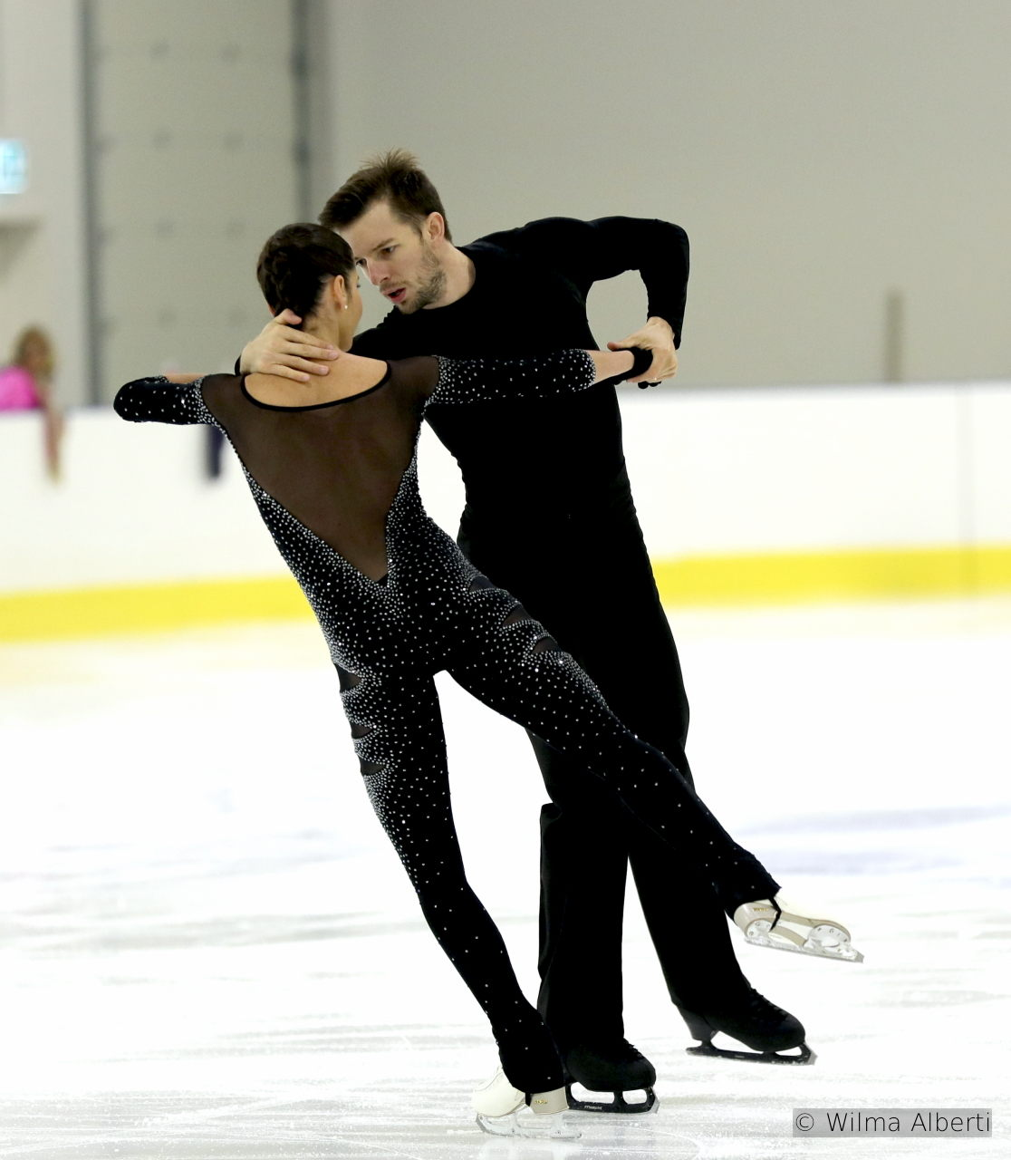 "Valentina and Ondrej – free skate at 2016 Lombardia Trophy, to music from the movie ""Mission: Impossible"" and Adele's ""Skyfall"""