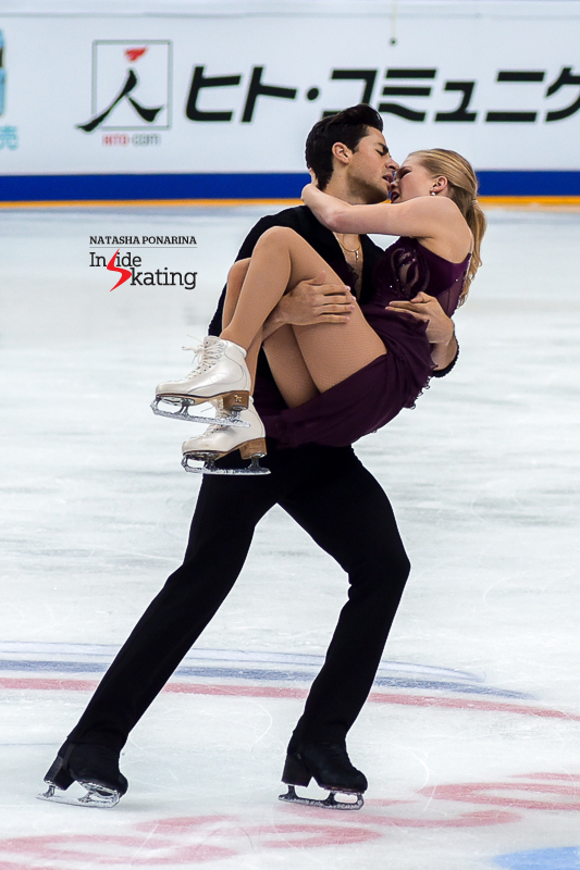 14 Kaitlyn Weaver and Andrew Poje FD 2016 Rostelecom Cup