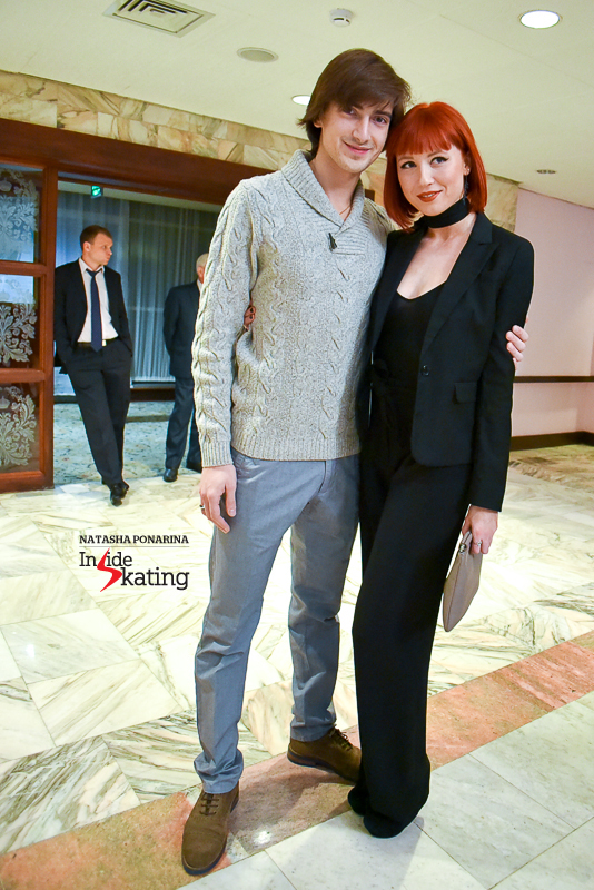 Russia's Tiffany Zahorski and Jonathan Guerreiro