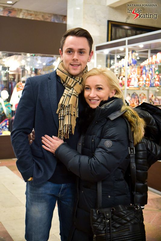 Aliona Savchenko and husband Liam Cross