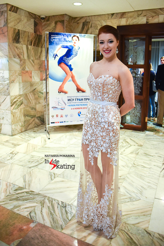 Ekaterina Bobrova in a dress to impress