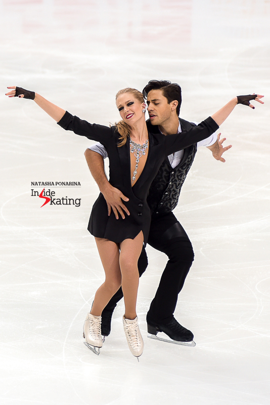 This season's short dance suits Kaitlyn and Andrew like a glove; like one of Michael Jackson's famous gloves