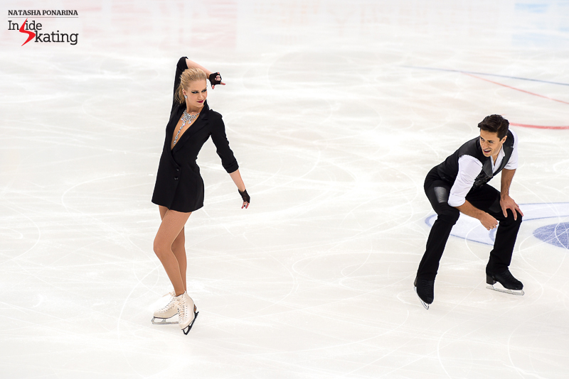 THIS happened in Moscow, at this year's edition of Rostelecom Cup: looking like a million-dollars, Kaitlyn Weaver and Andrew Poje performed a short dance to Michael Jackson's music; and boy, oh boy, was this dance full of character and nuances.
