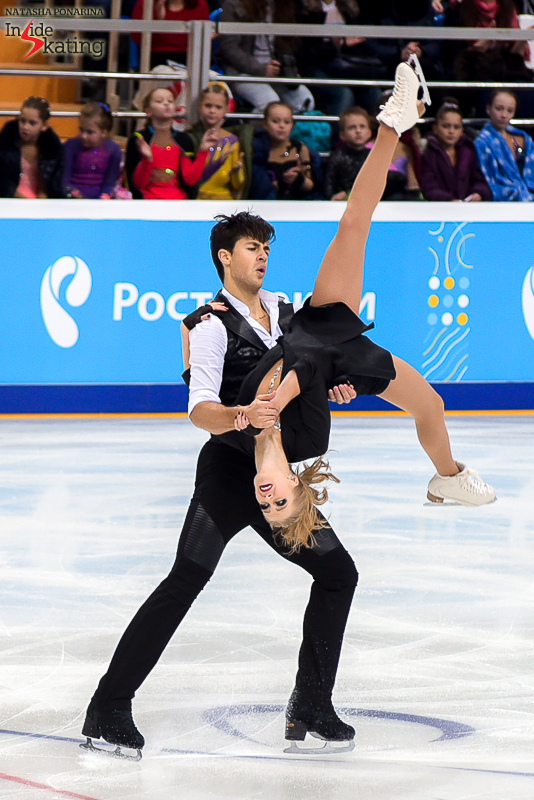 8 Kaitlyn Weaver and Andrew Poje SD 2016 Rostelecom Cup