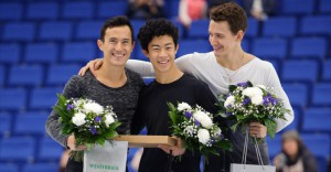 Training mates Chen and Chan – gold and silver at 2016 Finlandia Trophy