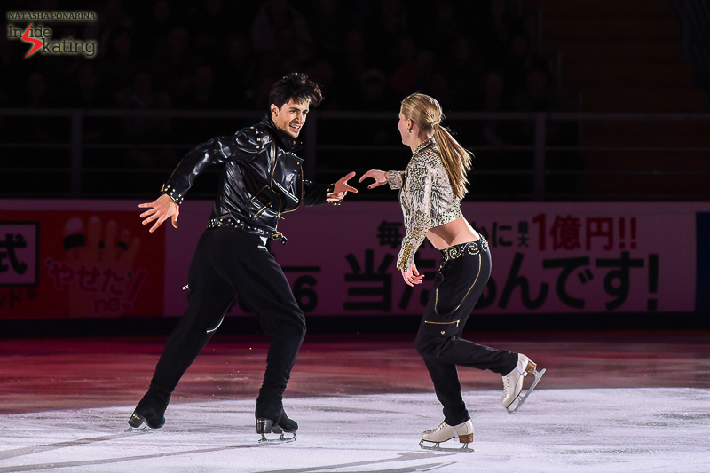 Kaitlyn Weaver and Andrew Poje exhibition 2016 Rostelecom Cup (9)