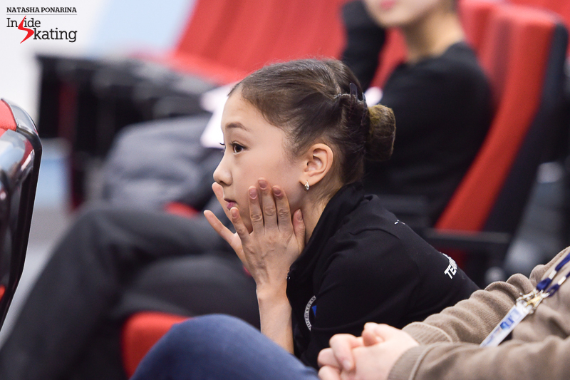 Elizabet will be the last to skate on the day of the ladies' SP: she drew number 12