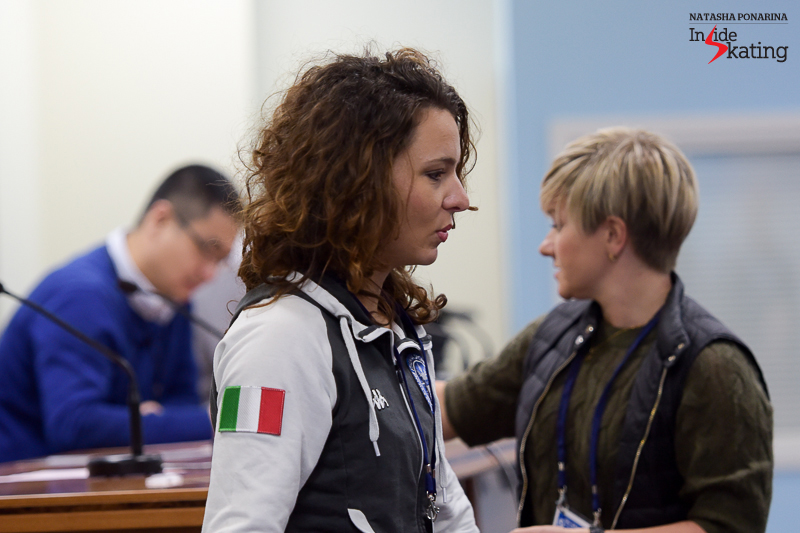Italy's Roberta Rodeghiero will be the 8th to take the ice in the ladies' SP