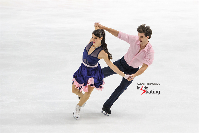 Laurence Fournier Beaudry and Nikolaj Sorensen SD 2016 Finlandia Trophy (1)