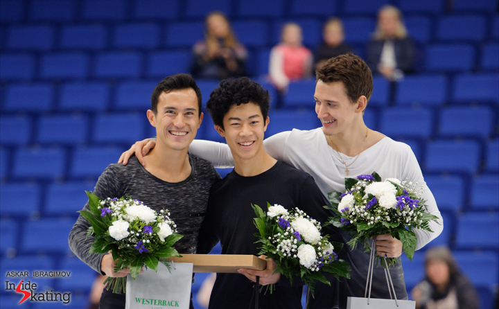 Medalists men 2016 Finlandia Trophy Espoo