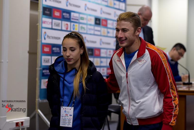 Kristina Astakhova and Alexei Rogonov drew number 7 for their short program